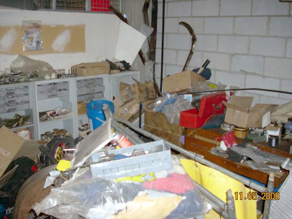 Messy machine room